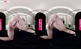 虛擬現實VR美女自慰高潮特效視頻